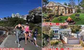 House prices in Australia and recovering share market boosting wealth levels