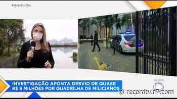 Presos suspeitos de lavar dinheiro de milicianos no Rio de Janeiro - Record TV