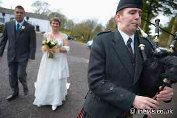 Covid in Scotland: Weddings exempt from new vaccine passport restrictions - iNews