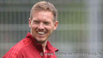 Nagelsmann kommt mit ungewöhnlichem Gefährt zum Bayern-Training - Lässiges Bild aufgetaucht