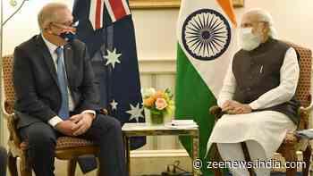 PM Narendra Modi meets his `good friend` Australian PM Scott Morrison, discusses issues of bilateral, regional and global importance