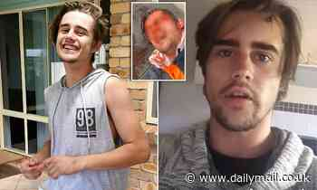 Melbourne protester filmed bleeding from the head denies wild theories he DIED - as obituary spreads