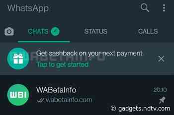 WhatsApp Working on Cashback Feature for Payments Push, Multiple Features for Group Chats in the Works