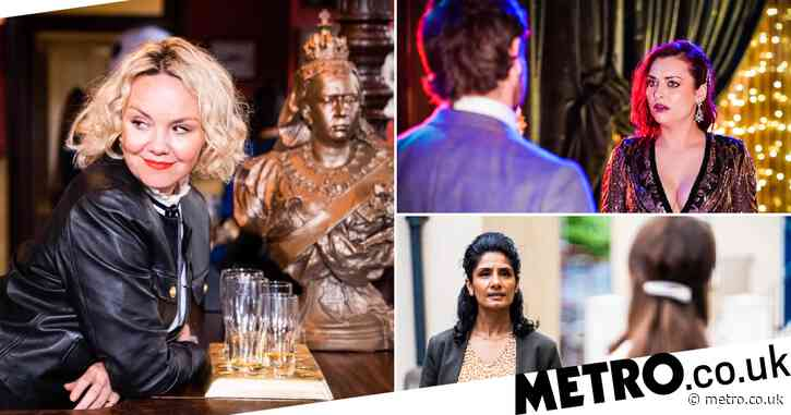 EastEnders spoilers: 40 new images reveal Janine's landlady dream, Gray targets Whitney and romance