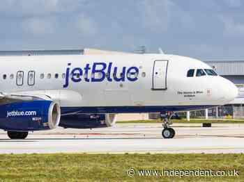 Passenger attempts to storm cockpit, fights, kicks and strangles flight attendants on JetBlue rampage