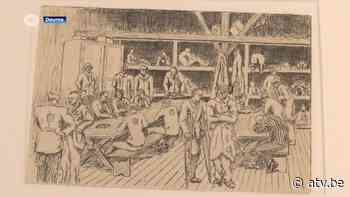 Tekeningen uit concentratiekamp Buchenwald en struikelstenen in Deurne - ATV