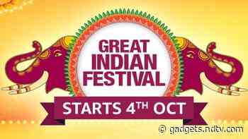 Amazon Great Indian Festival Sale 2021 Announced, Beginning October 4 as Month-Long Event