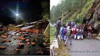 Himachal Pradesh: Landslides in Kinnaur, Shimla following heavy rains