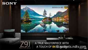 Sony Bravia XR Master Series 85Z9J 85-Inch 8K LED TV Launched in India at Rs. 12,99,990