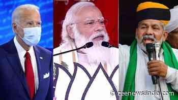 `Dear POTUS....`: Farmer leader Rakesh Tikait urges US President Joe Biden to focus on farm laws in meeting with PM Narendra Modi