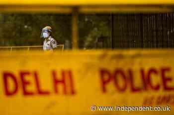Three dead as gunmen open fire inside court hearing for 'most wanted gangster in Delhi'