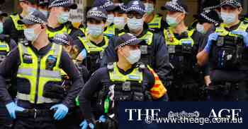 Police isolating after contact with positive demonstrator as lid kept on protest in suburbs