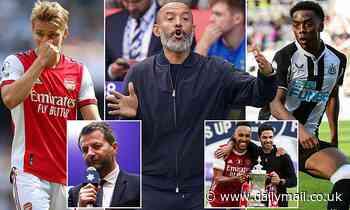 Tim Sherwood slams Arsenal and Tottenham's 'terrible recruitment' ahead of north London derby