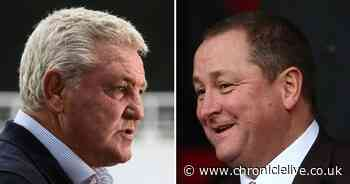 Steve Bruce asked about relationship with Mike Ashley, and reflects on crowd chants one week on