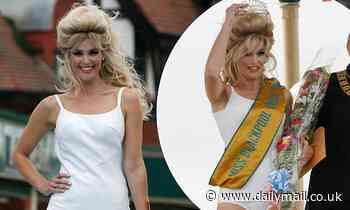 From Bond to Miss Blackpool! Gemma Arterton slips into swimwear