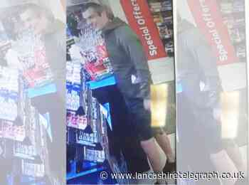 Renewed appeal to find shorts-wearing man after two shop burglaries
