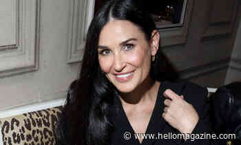 Demi Moore stuns with 'big hair' transformation