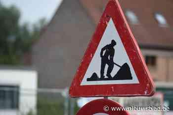 Baan uur lang afgesloten door ongeval aan werken