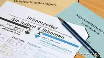 Briefwahlunterlagen nicht abgeschickt: So können Sie im Wahllokal wählen