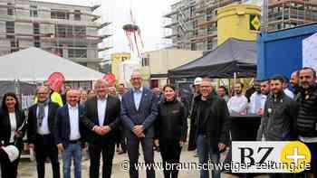 """""""Wolfs-Garten"""" in Wolfsburg – Richtfest für 115 Wohnungen"""