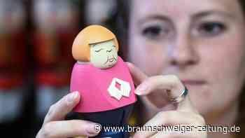 Angela Merkel raucht: Kanzlerin als Räucherfigur