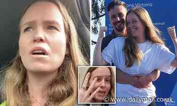 Anti-vaxxer Monica Smit reveals engagement hours after she is bailed on Melbourne protest charges