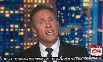 CNN's Chris Cuomo accused of sexual harassment by former ABC boss who says he squeezed her buttock
