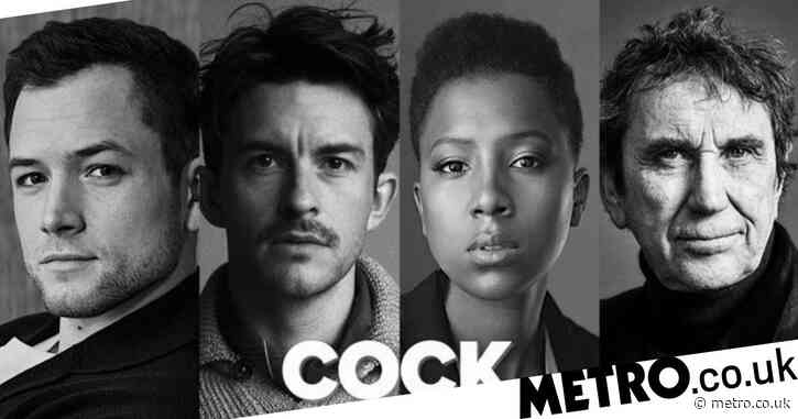 Taron Egerton and Jonathan Bailey will play a couple in West End play Cock and no, this isn't fan-fiction