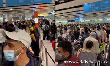 Heathrow Airport CHAOS as 'thousands' of passengers are stuck in three-hour queues