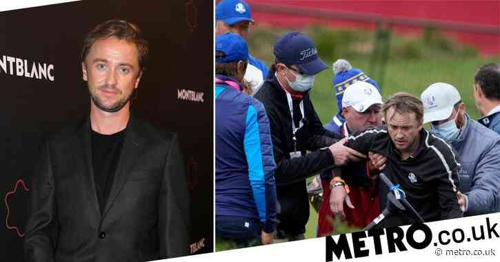Tom Felton's pal shares health update after Harry Potter star 'collapses' at golf game