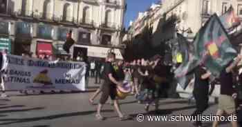 Neo-Nazis in Spanien - Demonstration in Madrids LGBTI*-Viertel - schwulissimo
