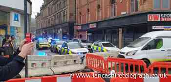 Burnley Marks and Spencer: Man denies attempted murder