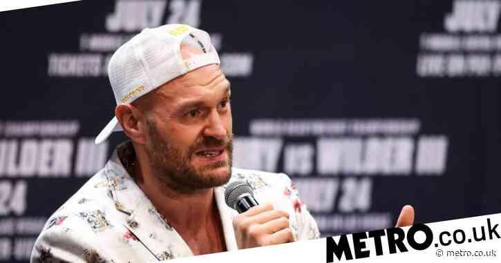 Tyson Fury makes prediction for Anthony Joshua vs Oleksandr Usyk fight