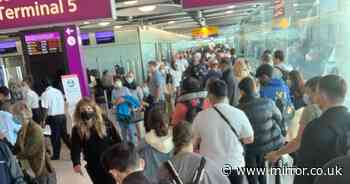 UK airport chaos as e-gates crash across country - hitting Heathrow and Stansted