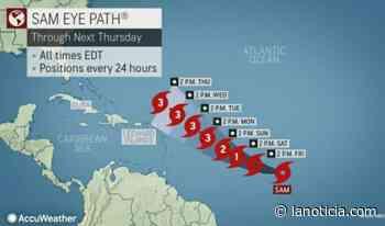 Huracán Sam avanza hacia Estados Unidos, ¿llega a Carolina del Norte? - La Noticia