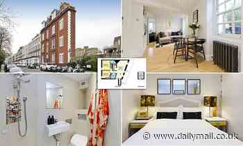 'Tardis-style' London flat which is so narrow it appears inhabitable on the market for almost £800k