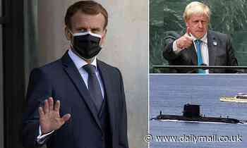 Boris Johnson tries to repair relations with France after AUKUS row