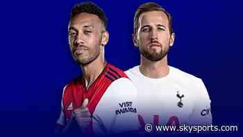 Arsenal vs Tottenham on Sky: Xhaka, Lucas back, Bergwijn out