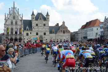 Wielrenners rijden voor het eerst door Mechelen en Bonheiden tijdens wereldkampioenschap