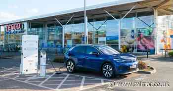 Tesco named best supermarket for providing charging for electric car owners