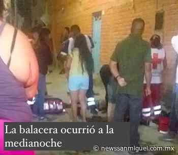 Único sobreviviente de la masacre en la San Rafael, lo señalan como el posible 'objetivo de la balacera' - News San Miguel - News San Miguel