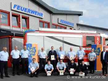 Neue Wehrführer in Feuerwehreinheiten der Verbandsgemeinde Rennerod ernannt - WW-Kurier - Internetzeitung für den Westerwaldkreis