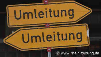 Nach Freigabe der B 54 bei Rennerod: Nicht entfernte Schilder sorgen für Verwirrung bei Autofahrern - Rhein-Zeitung
