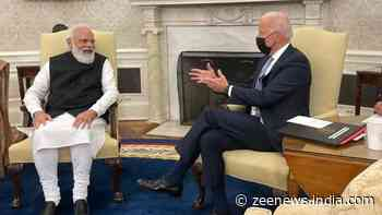 PM Narendra Modi, President Joe Biden hold first bilateral meeting, say `new chapter in Indo-US ties has begun`