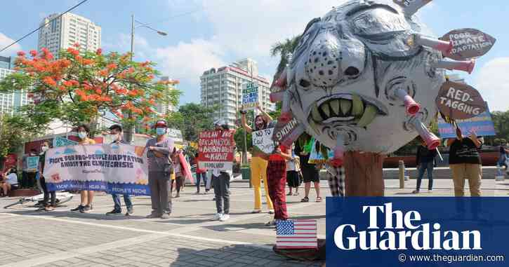 Philippines' youth call for systemic change at climate protest