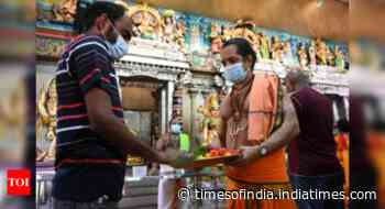 Coronavirus live updates: All temples in Maharashtra to be reopened from October 7, the first day of Navratri - Times of India