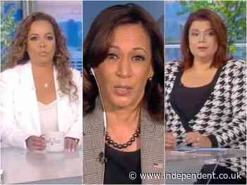 'The View' hosts test positive for Covid-19 ahead of interview with Kamala Harris