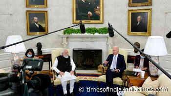 Watch: PM Modi meets US President Biden at White House