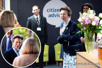 The Princess Royal visits Citizens Advice headquarters in Horsham