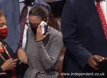 Alexandria Ocasio-Cortez explains why she shed tears on the House floor Thursday